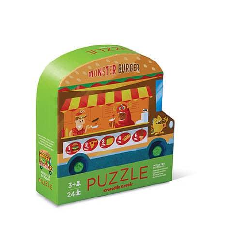 24 stukken dubbelzijdige puzzel - Food truck