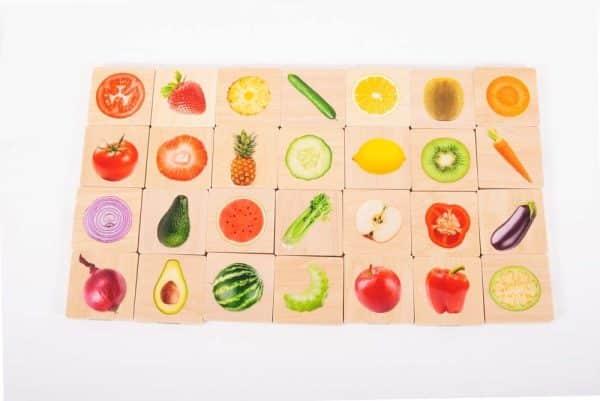 Fruit en groenten match