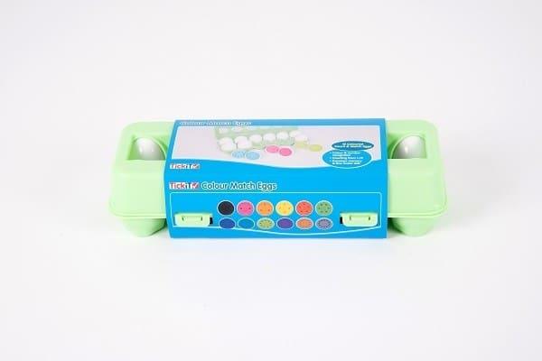 Gekleurde eieren match 4