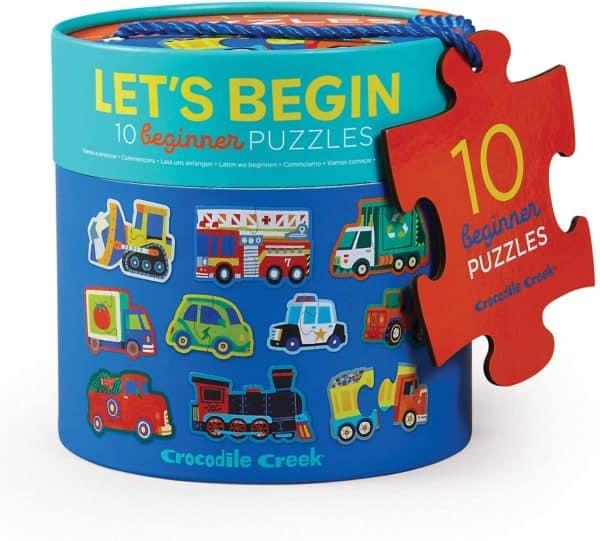 Lets begin puzzel voertuigen