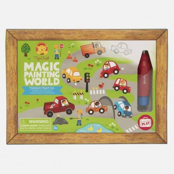 Magic painting - voertuigen