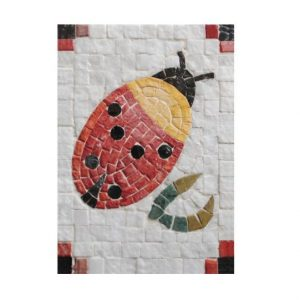 Mosaikit Ladybug 17 x 12