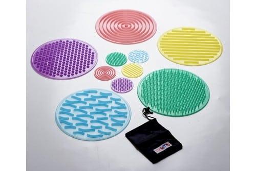 Set Silishapes zintuiglijke cirkels