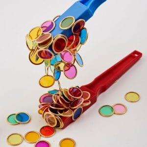Set magnetische toverstokken en magneetchips