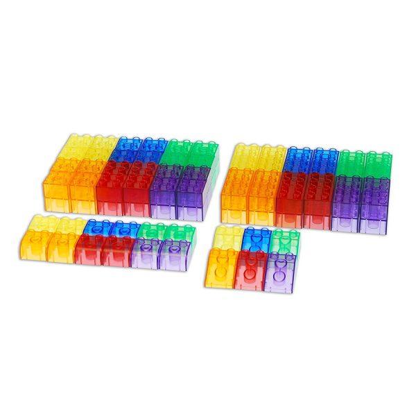 Set transparante blokken