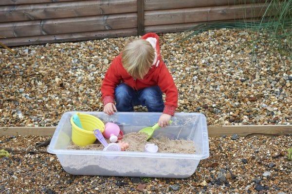 Zand en water tray 4