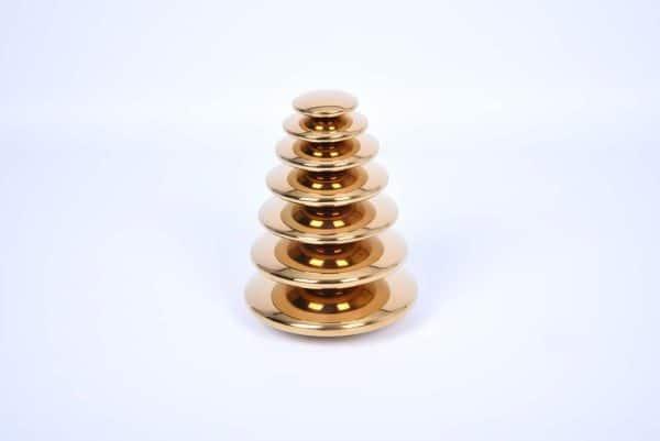 Zintuiglijk reflecterende discs Goud 3