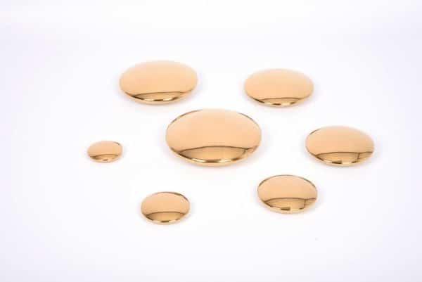 Zintuiglijk reflecterende discs Goud