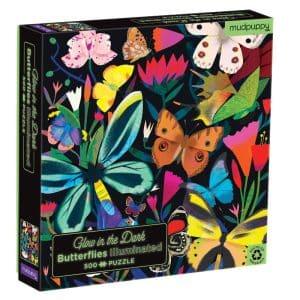 mudpuppy-glow-in-the-dark-puzzel-vlinders-500-st