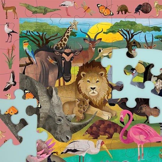 mudpuppy-zoek en vind puzzel Safari