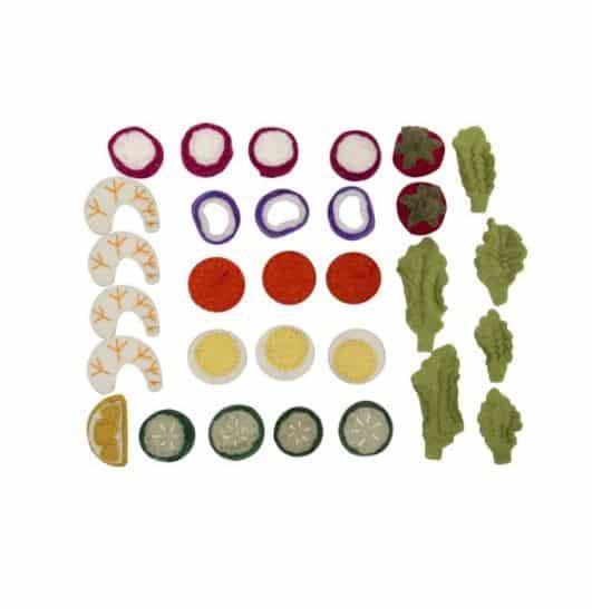 papoose-toys-salade-set-30-stuks