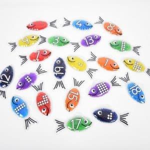 regenboog gel vis