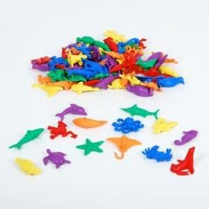 zeedieren tellen