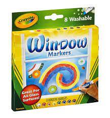 Afwasbare raam stiften