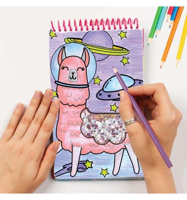 Kleur- En Stickerboek Eenhoorn (klein)