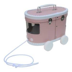 Koffer Tram roze