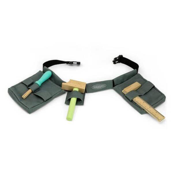 houten tool belt