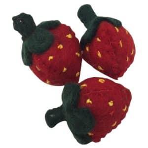 papoose-toys-vilten-aardbeien-3-stuks