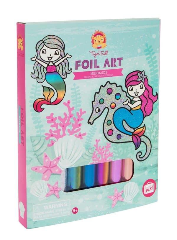 foil-art-zeemeermin 3