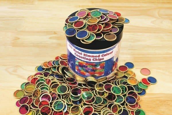500 metalen chips